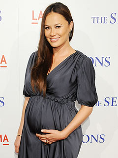 Moon Bloodgood Welcomes Daughter Pepper