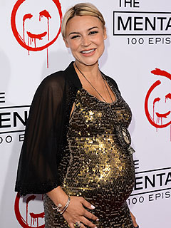 Samaire Armstrong Welcomes Son Calin