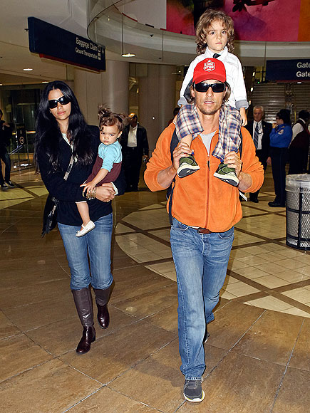 HIGH UP  photo | Camila Alves, Matthew McConaughey
