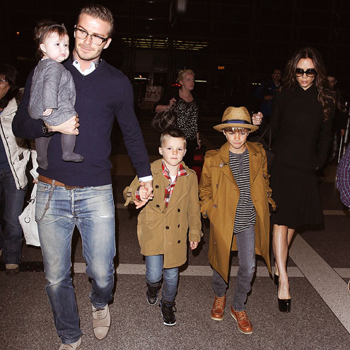 ON THE GO photo | David Beckham, Victoria Beckham
