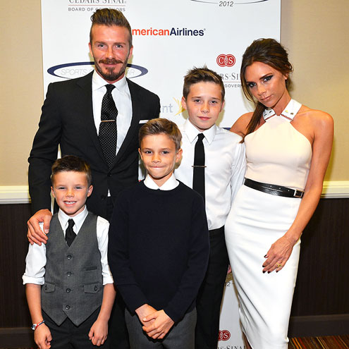 ALL IN THE FAMILY photo | David Beckham, Victoria Beckham