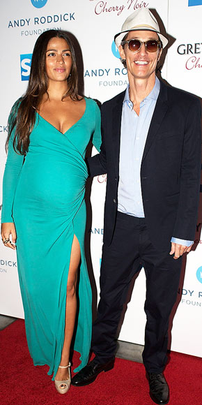 AQUA WOMAN photo | Camila Alves, Matthew McConaughey