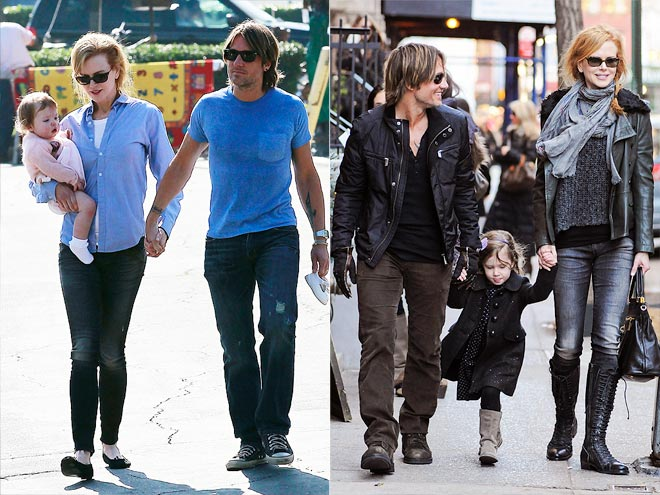 Country Stars And Their Kids Nicole Kidman Keith Urban