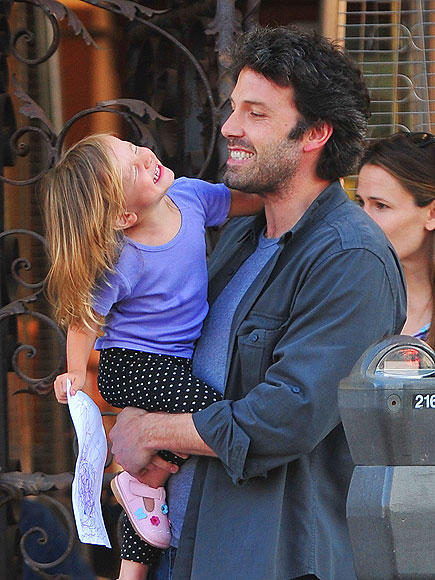 BEN & SERAPHINA AFFLECK photo | Ben Affleck
