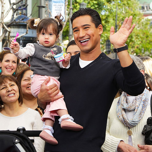 MARIO & GIA FRANCESCA LOPEZ photo | Mario Lopez