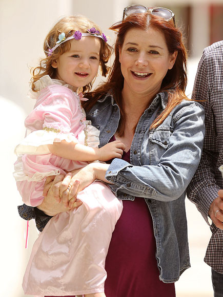 ROYALLY CUTE photo | Alyson Hannigan