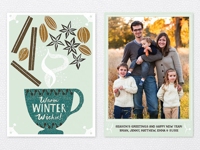 Season's Greetings! 12 Holiday Cards to Suit Every Style