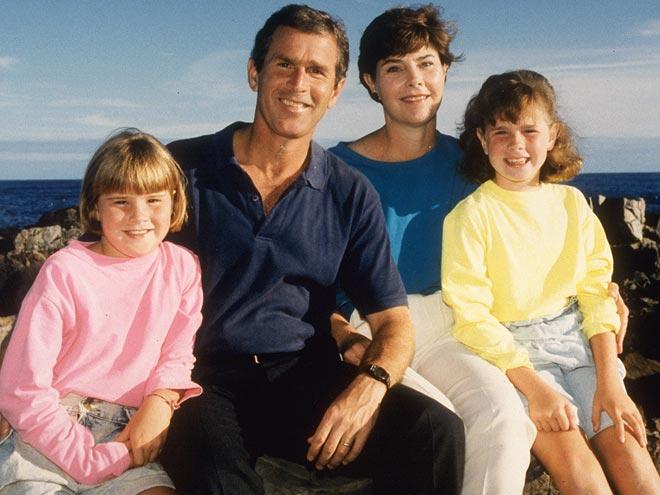 Семья Джорджа Буша