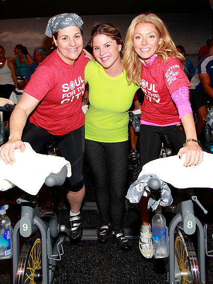 SPIN CITY photo | Jenna Bush, Kelly Ripa