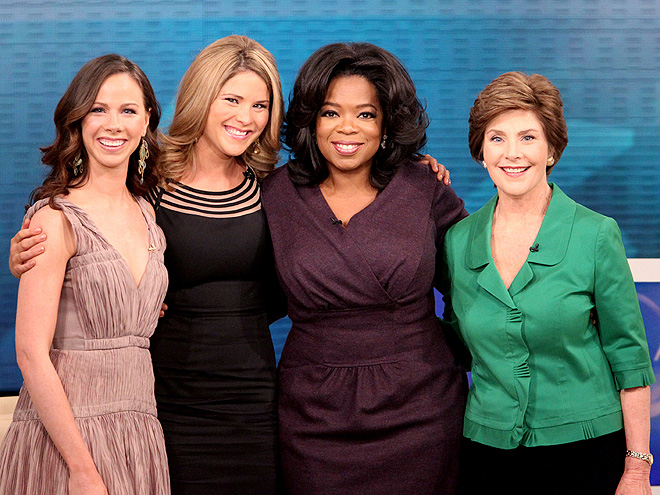 TV TALK photo | Barbara Bush, Jenna Bush, Oprah Winfrey