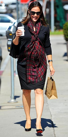 MAD FOR PLAID photo | Jennifer Garner
