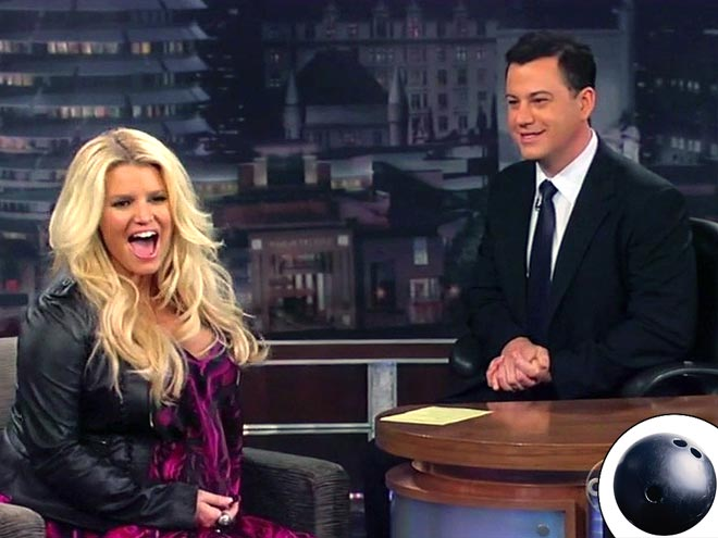 NOT-SO-LUCKY STRIKE photo | Jessica Simpson, Jimmy Kimmel