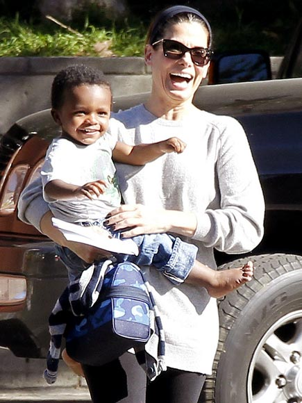 Sandra Bullock's Son Louis Birthday Photos : People.com