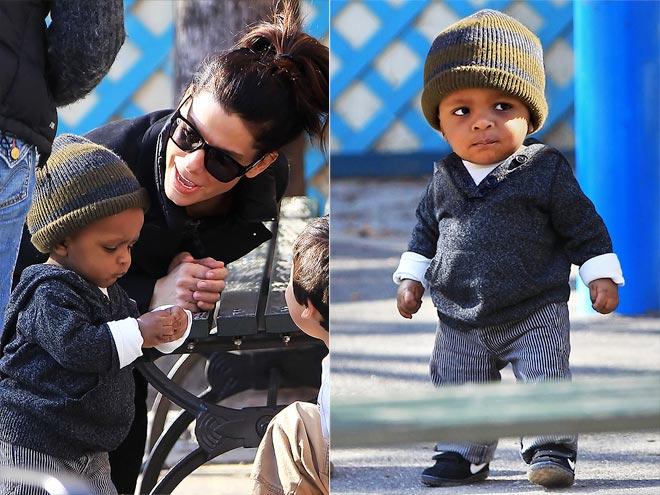 Moms  amp BabiesLouis Bullock Sandra Bullock Son