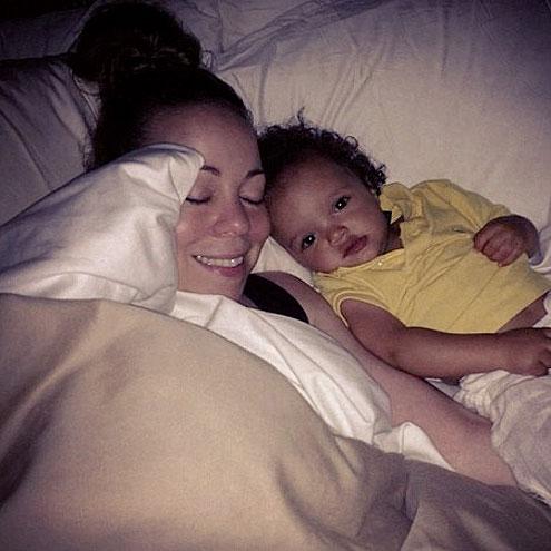 SLEEPY TIME photo | Mariah Carey
