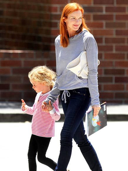 MARCIA CROSS & EDEN photo | Marcia Cross