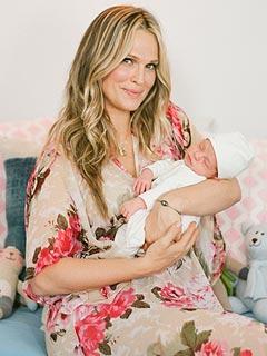 Molly Sims's Serene Nursery Style