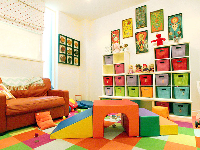 Kids room organization apartment therapy for Rangements chambre enfants