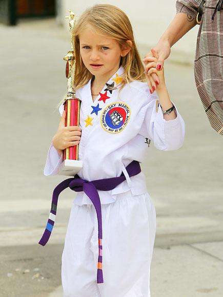 Suri Cruise, Honor Warren, Zuma Rossdale: Little Olympians ...