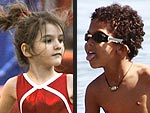 Hollywood's Little Olympians | Suri Cruise