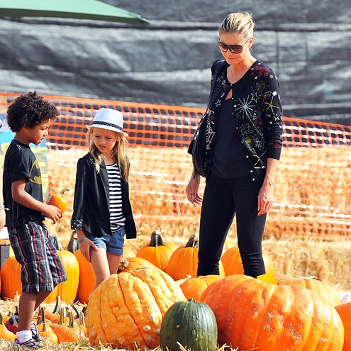 LITTLE GOURD-MANDS photo | Heidi Klum