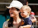 Hollywood's Cutest Little Pumpkin Pickers | Selma Blair