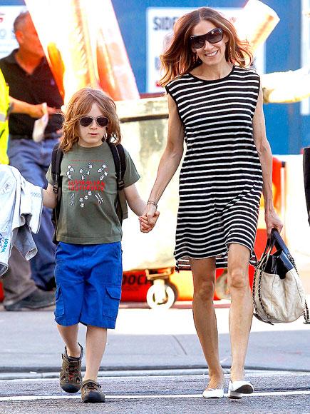 Сара Джессика Паркер с сыном