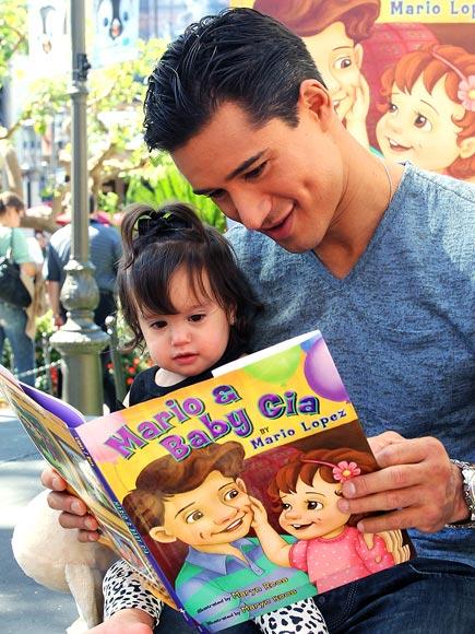 GIA LOPEZ: MARIO & BABY GIA photo | Mario Lopez