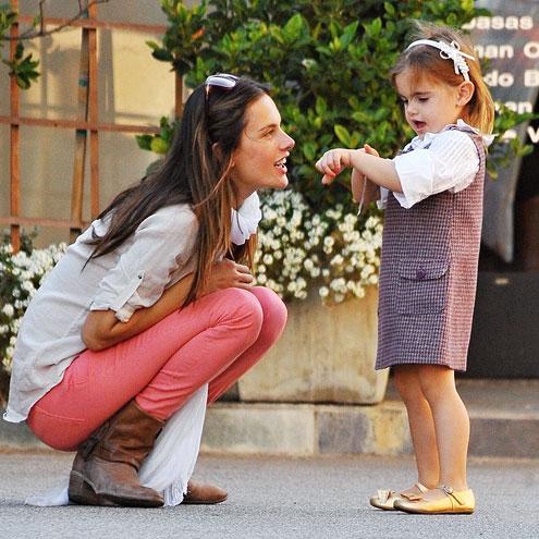 ALESSANDRA & ANJA photo | Alessandra Ambrosio