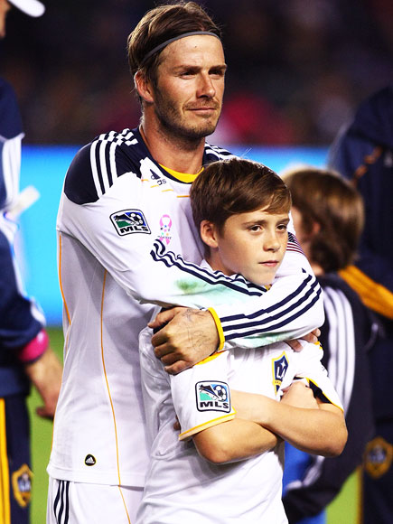 DAVID & BROOKLYN photo | David Beckham