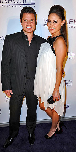 WHITE NIGHT photo | Nick Lachey, Vanessa Minnillo