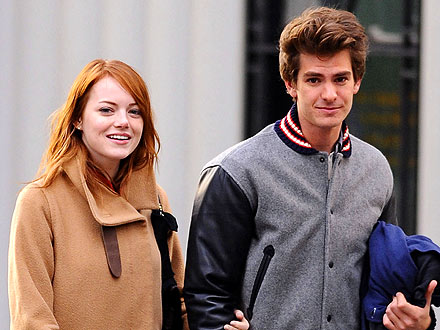 Emma Stone & Andrew Garfield&#39;s Sweet (Literally!) Shopping Trip | Andrew Garfield, Emma Stone