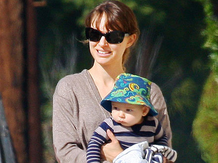 Natalie Portman Takes Her Son to the Ballet