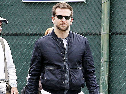Bradley Cooper Works on His Abs (and Conversational Skills) at the Gym | Bradley Cooper