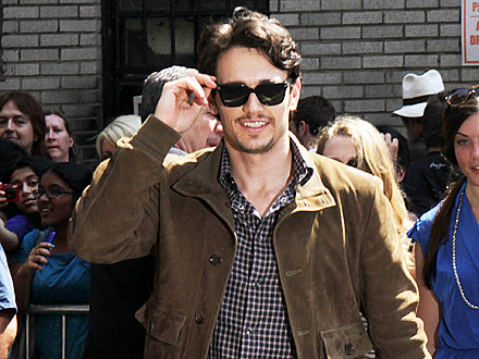 James Franco Dines with Costars in Louisiana | James Franco