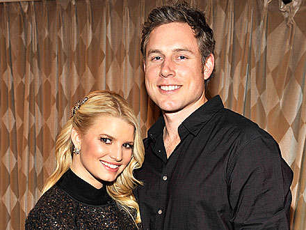 Jessica Simpson and Eric Johnson Party in Palm Springs