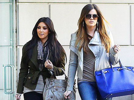 Inside Kim & Khloé's Whirlwind Dallas Day