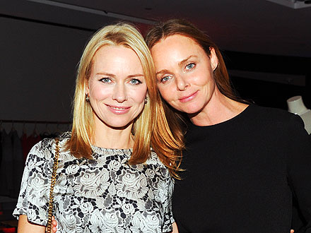 Naomi Watts Gets a Delicious (Vegetarian) Preview of Stella McCartney's N.Y.C. Store | Naomi Watts, Stella McCartney