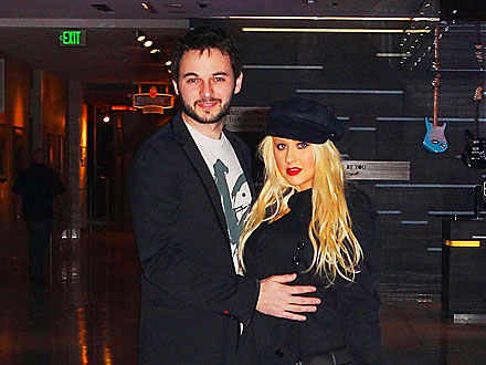 Christina Aguilera Parties in San Diego with Her Boyfriend – and Her Son! | Christina Aguilera