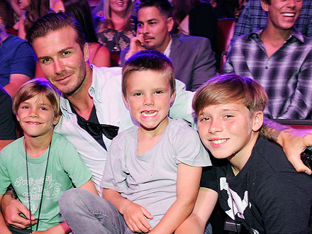 The Beckham Boys Do Lunch &#8211; Twice! | David Beckham