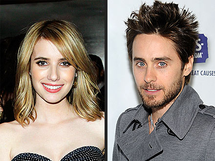 Emma Roberts Meets Jared Leto, Raves About His Hotness! | Emma Roberts, Jared Leto