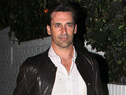 Jon Hamm Flies Under the Radar at Chateau Marmont | Jon Hamm
