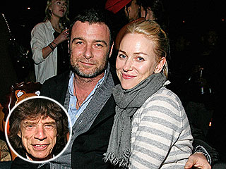 Naomi Watts, Liev Schreiber Hit a New York Bar – with Mick Jagger! | Liev Schreiber, Mick Jagger, Naomi Watts