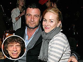 Naomi Watts, Liev Schreiber Hit a New York Bar – with Mick Jagger! | Liev Schreiber, Mick Jagger, Naomi Watts