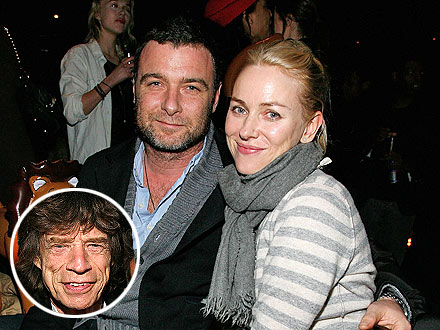 Naomi Watts, Liev Schreiber Hit a New York Bar – with Mick Jagger!