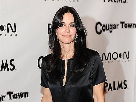 What Was Courteney Cox Doing in a Kitchen in Las Vegas? | Courteney Cox