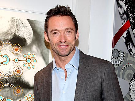 Hugh Jackman Steps Out for Sushi