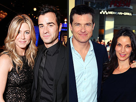Jennifer Aniston Drinks Dirty Martinis on Double Date | Jason Bateman, Jennifer Aniston, Justin Theroux