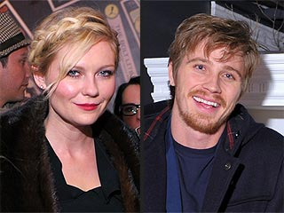 Kirsten Dunst Kisses New Beau Garrett Hedlund at Sundance | Garrett Hedlund, Kirsten Dunst