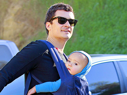 Orlando Bloom & Son Flynn Have an Arty Outing in L.A. | Orlando Bloom